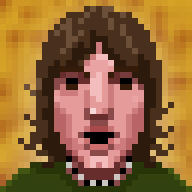 Michael Kelso Pixel Portrait